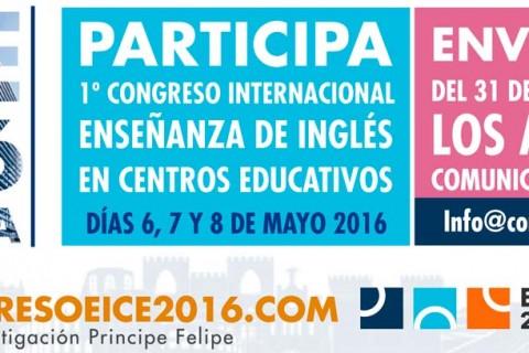 bannercongresoeice 1170x408 480x320 - EICE 2016-Valencia I Congreso Internacional de Enseñanza de Inglés en Centros Educativos