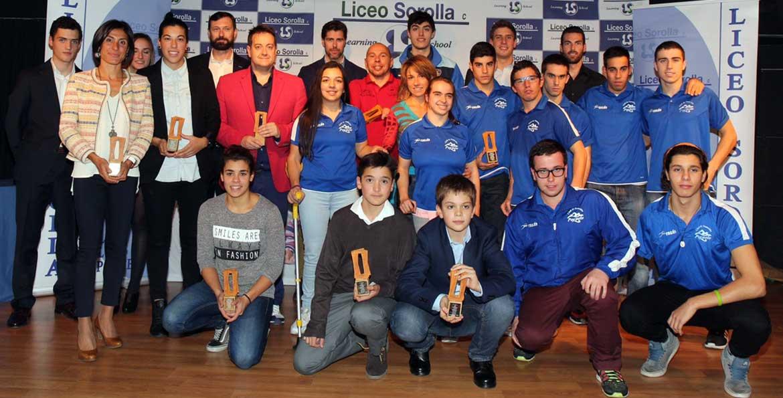 galasorolladic2015 1170x595 - IV Gala de valores del deporte del Liceo Sorolla