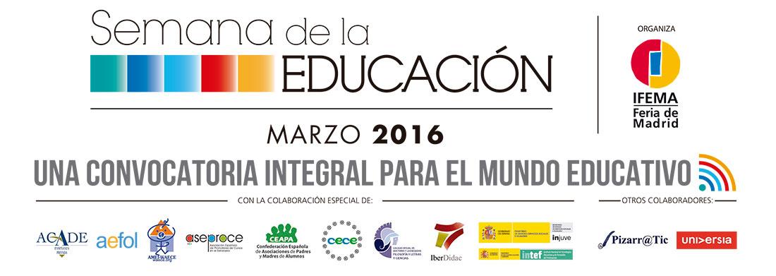 semanaeducacion2016 1100x391 - ACADE en el Comité Organizador de la Semana de la Educación 2020