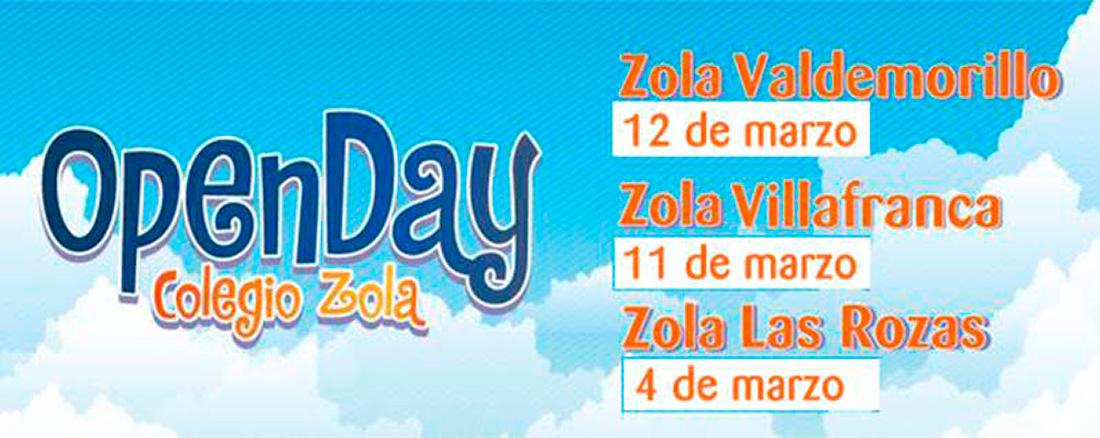 """opendayzola 1100x438 - Los colegios Zola celebran sus """"OPEN DAY"""""""