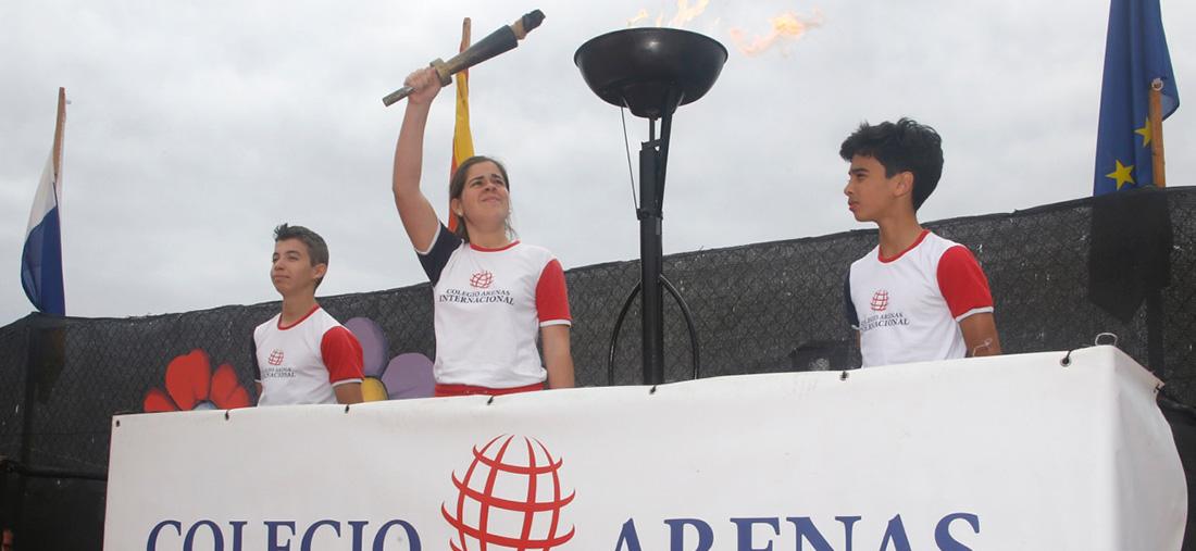 olimpiadaarenassur 1100x507 - XIII Carrera Solidaria del colegio Arenas y Arenas Atlántico