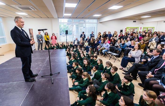 Evento Inauguración Hastings School 1 - Hastings School inaugura nuevo campus en Madrid