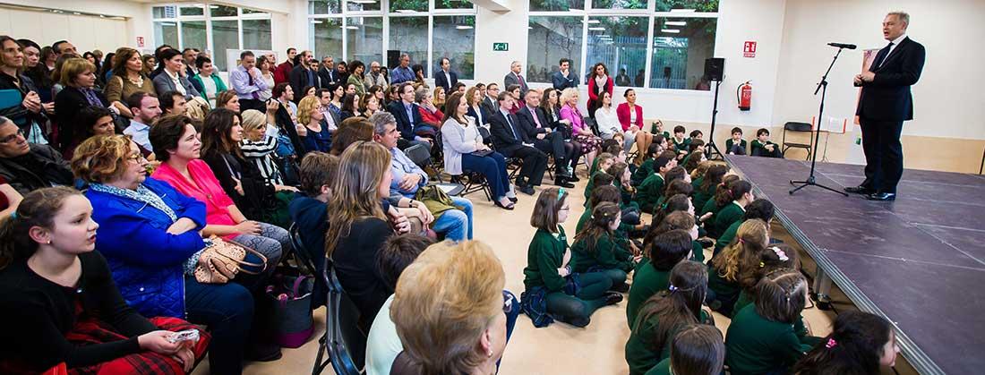 inaugurahasting 1100x419 - Hastings School inaugura nuevo campus en Madrid