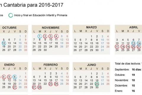 calendario escolar cantabria 1100x414 480x320 - Aprobado el calendario escolar de Cantabria 2016/2017 con una semana de vacaciones cada dos meses