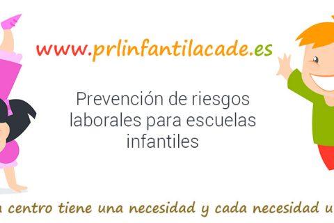 prl infantil 1100x450 480x320 - ACADE presenta el proyecto web de Prevención de Riesgos Laborales para centros de Educación Infantil