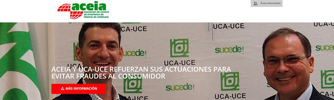 acuerdo aceia 1100x331 - Aceia y UCA-UCE firman un acuerdo para luchar contra el fraude académico en Andalucía