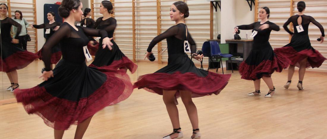 examenes danza 110x470 - 1.200 pruebas en los exámenes de Danza en Madrid