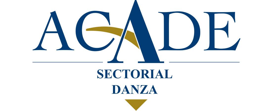 logotipo sectorial danza 1100x450 - Convocatoria de exámenes de Ballet Clásico de ACADE. Andalucía 2016