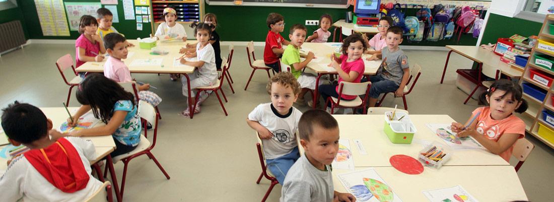 niños escuelainfantil1100x401 - ACADE junto con FECEVAL y ESCACV presentan un recurso ante el TSJCV contra la normativa que beneficia a las aulas públicas de dos años en la comunidad valenciana