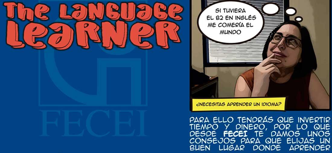 Poster de FECEI 1100x500 - FECEI lanza una campaña informativa con claves para elegir un buen centro de idiomas