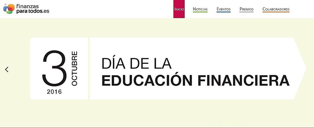 dia de la educacion financiera - 3 de octubre Día de la Educación Financiera