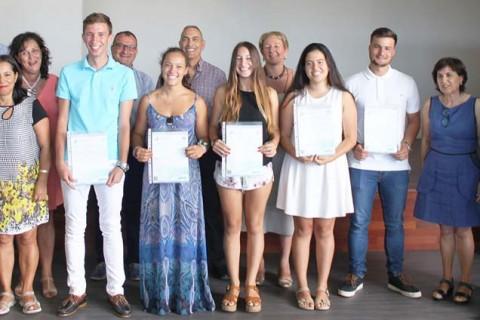 entregadiplomas CAI1 1 480x320 - Graduada la V promoción de Bachillerato Internacional del colegio Arenas de Lanzarote