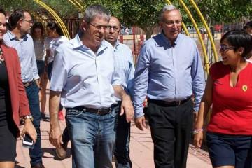 Alcalde de San Bartolomé destaca iniciativa de integración del colegio Arenas Sur