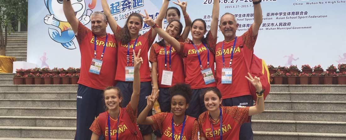 atletismo campeonasmundo - Colegio Base, premio nacional del deporte 2015