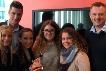 Alumnas de La Devesa School ganan el tercer premio del concurso internacional The Global Enterprise Challenge