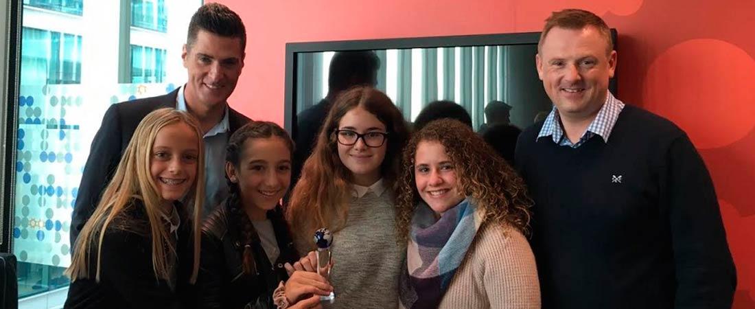 foto de noticia de global enterprise challenge colegio la devesa - 8 alumnos de Mas Camarena ganadores del Concurso contra la violencia de género Noemtoqueselwhatsapp