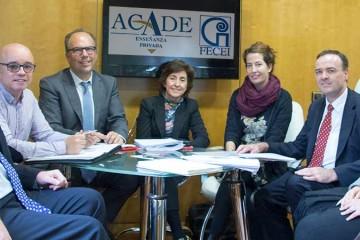 La Federación de Centros de Enseñanza de Idiomas, FECEI, se reúne con ACADE