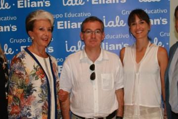 El escritor valenciano Santiago Posteguillo inaugura el 50 aniversario del colegio Iale