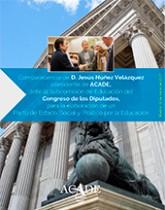 imagen de portada de folleto Intervencion de Jesús Núñez en Subcomision de Educacion 165x210 - Home