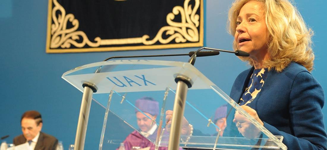 uax - La fiscal general del Estado presidio la apertura del curso en la Universidad Alfonso X el Sabio de Madrid