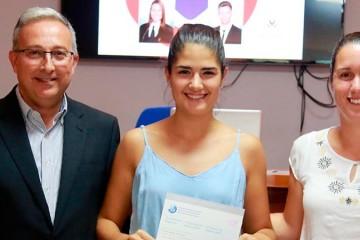 Premio Extraordinario de Bachillerato para una alumna del colegio Arenas Sur