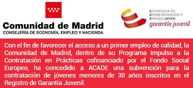 IP Logo empleo joven ACADE - Home