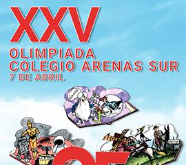 IP XXV Olimpiada Arenas Sur - Home