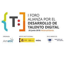 IP foro alianza desarrollo talento digital - Home
