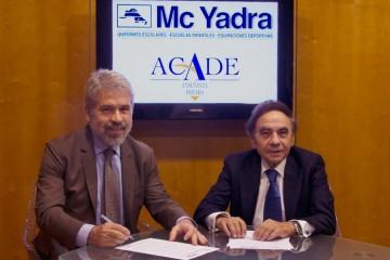 McYadra renueva su acuerdo con ACADE para continuar ofreciendo diseños personalizados de vestuario