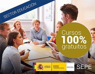 Promocion Cursos Gratuitos SEPE - Home