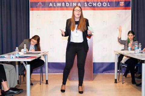 debate web1 480x320 - El colegio Almedina participa en el Torneo Académico de Córdoba