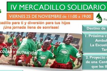 El Colegio Europeo de Madrid y la Escuela Infantil BEBIN celebran su IV Mercadillo solidario