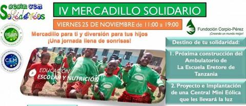 foto de noticia mercadillo solidario colegio europeo 480x207 - El colegio Europeo de Madrid y la escuela infantil Bebín y celebran 25 años con una jornada de puertas abiertas