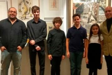 Concierto de obras originales de Eugenio Granell, por alumnos de Peleteiro