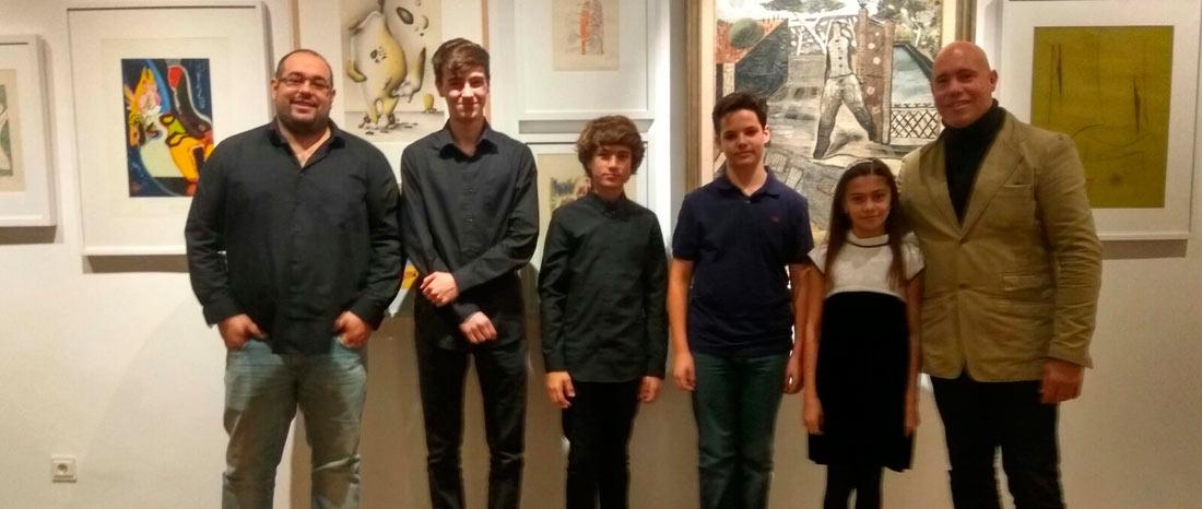 peleteiro concierto - Concierto de obras originales de Eugenio Granell, por alumnos de Peleteiro
