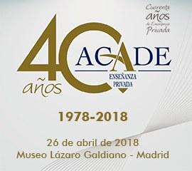 portada 40 aniversario acade - Home
