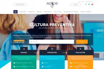 Campaña informativa sobre prevención de riesgos laborales en colegios