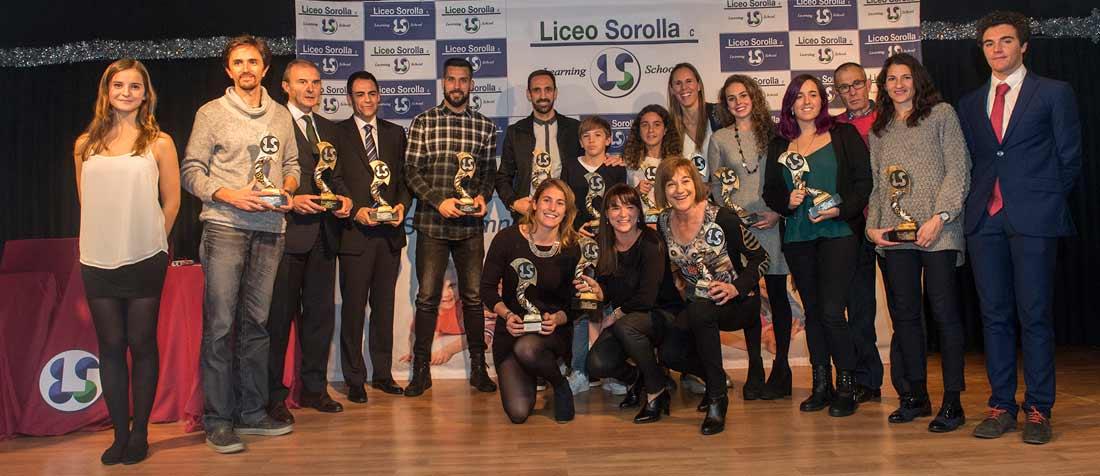GALA DEL DEPORTE web - El Liceo Sorolla aboga por el juego limpio y el respeto a los árbitros