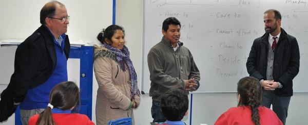 foto de noticia de el centro ingles recibe visita de madre coraje 600x245 - El neurocientífico Fernando de Mora participará en el Centro Inglés