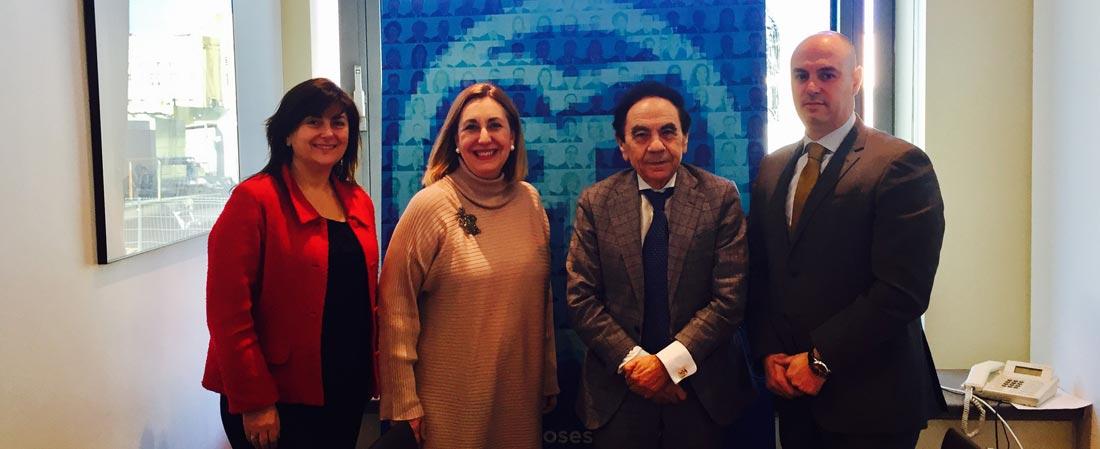 valmaña - ACADE inicia la ronda de contactos con los miembros de la Comisión de Educación en el Congreso de los Diputados