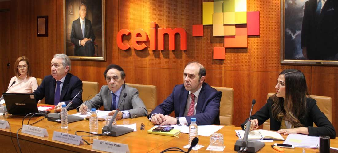 Comision Educacion web - El presidente de ACADE participa en la inauguración de la Semana de la Educación
