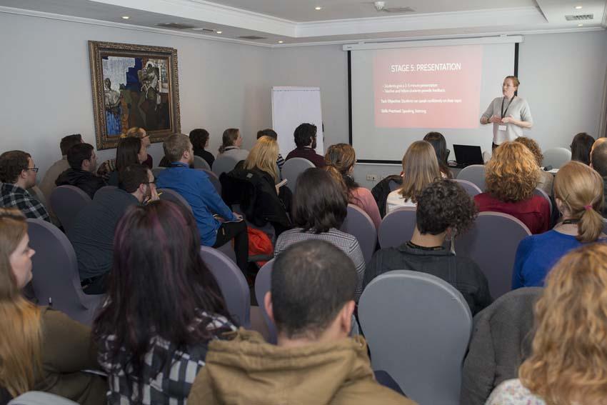 LOL7847 - Más de doscientos representantes de la enseñanza privada de idiomas se reunieron el Congreso de FECEI