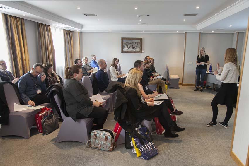 MG 0449 - Más de doscientos representantes de la enseñanza privada de idiomas se reunieron el Congreso de FECEI