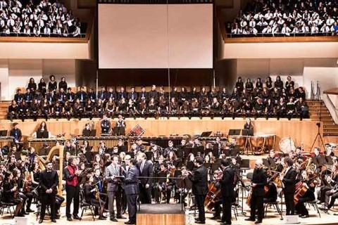 acto por el 50 aniversario del colegio iale 480x320 - Gran concierto conmemorativo por el 50 aniversario del colegio Iale