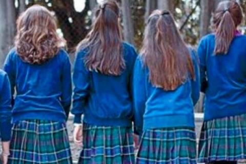 niñas colegio web 480x320 - Los colegios privados tienen los mejores profesores. Lo afirma el informe sobre calidad docente y competencias en los alumnos