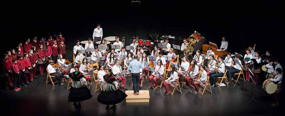 concierto solidario colegio obradoiro en favor de cocina economica - Concierto solidario del colegio Obradoiro en favor de la Cocina Económica de A Coruña