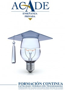 ACADE formación programada colegios 2017 216x300 - Convocatorias de formación activas
