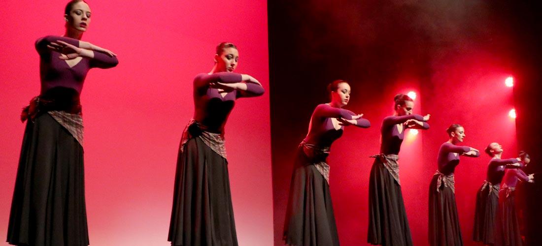foto de noticia de escuela nuria raquel - La escuela de danza Nuria y Raquel deja huella en el Certamen Nacional de Danza Orbe