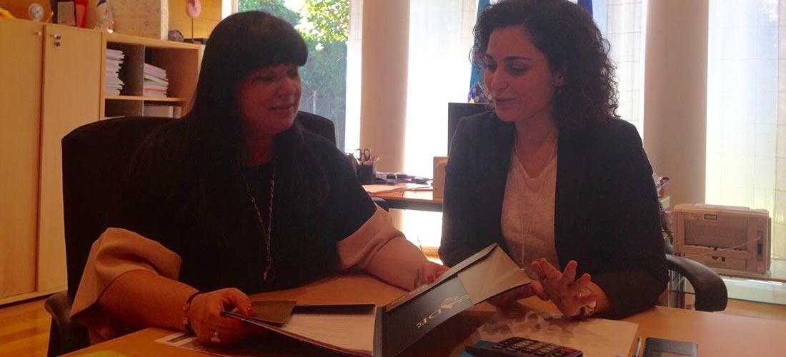 infantil galicia web - La presidenta de la sectorial de centros infantiles de ACADE en Galicia se reúne con la directora general de Familia de la Xunta
