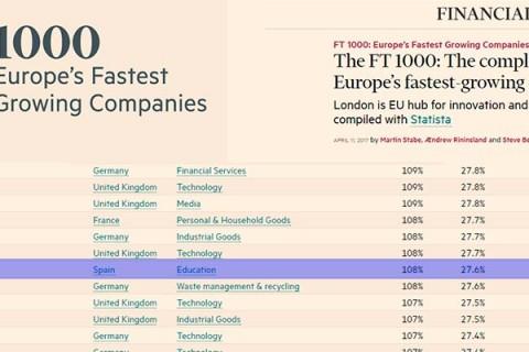 yago school 480x320 - El colegio Yago School entre las mil empresas que más crecen en Europa